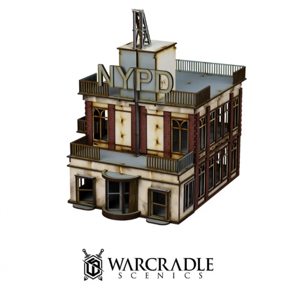 Warcradle Scenics: Super City - Tower Block