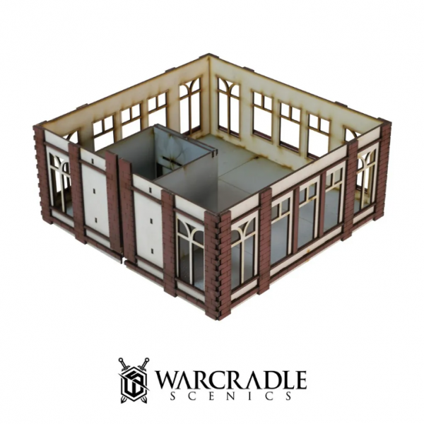 Warcradle Scenics: Super City - Tower Block Extension