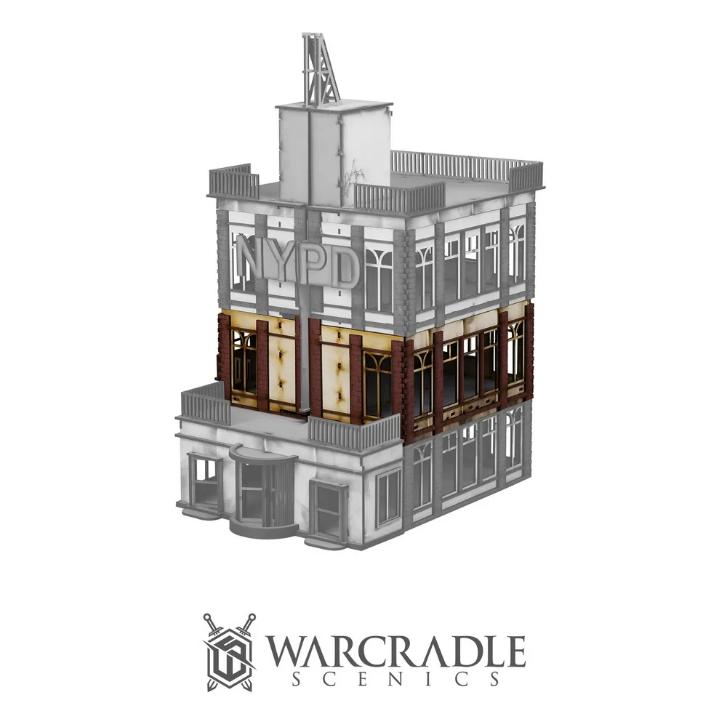 Warcradle Scenics: Super City - Tower Block Extension