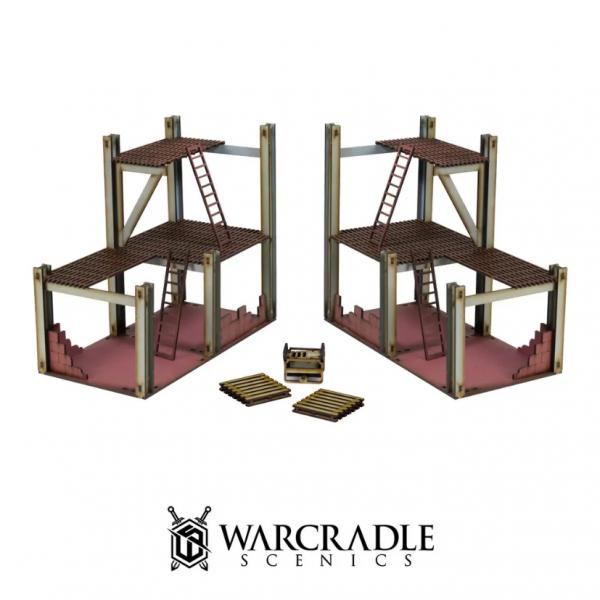 Warcradle Scenics: Super City - Construction Site