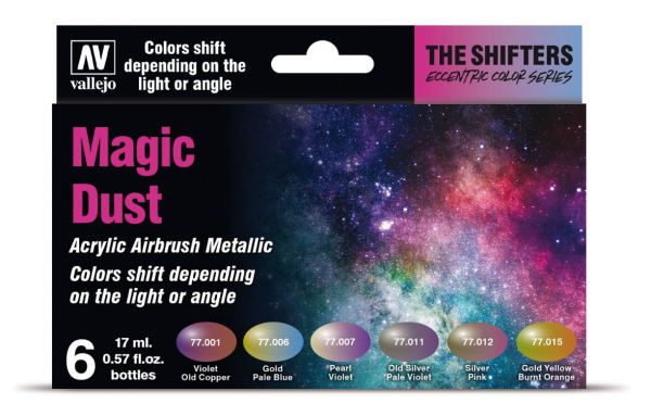 The Shifters Airbrush Colors: Magic Dust Set