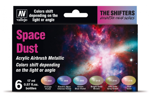 The Shifters Airbrush Colors: Space Dust