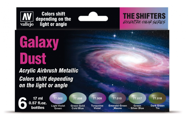 The Shifters Airbrush Colors: Galaxy Dust
