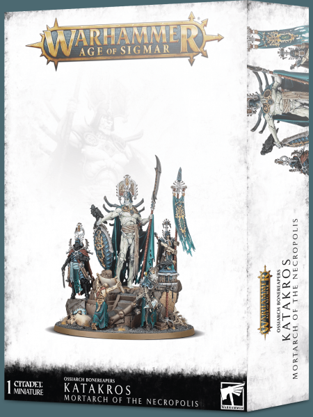 Age of Sigmar: Katakros, Mortarch of the Necropolis