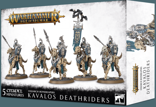 Age of Sigmar: Ossiarch Bonereapers - Kavalos Deathriders