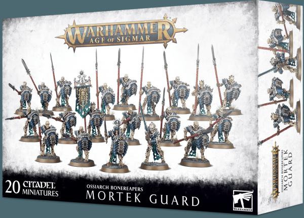 Age of Sigmar: Ossiarch Bonereapers - Mortek Guard
