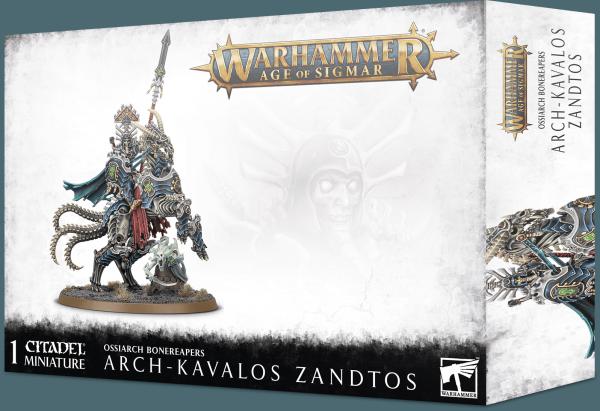 Age of Sigmar: Arch-Kavalos Zandtos, Dark Lance of Ossia
