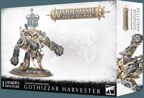 Age of Sigmar: Ossiarch Bonereapers - Gothizzar Harvester