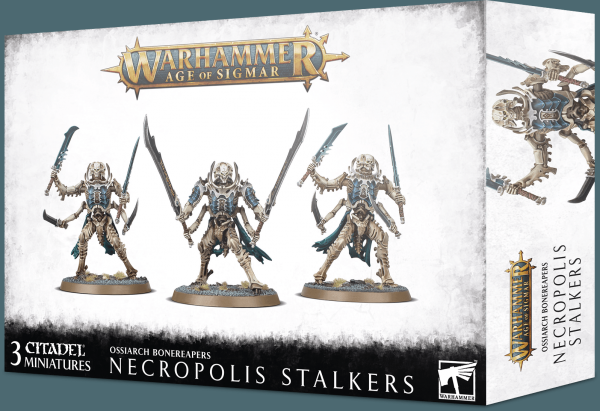 Age of Sigmar: Ossiarch Bonereapers - Necropolis Stalkers