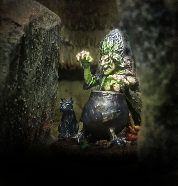 SAGA: Age of Magic - The Witch and Her Cat (and Cauldron)