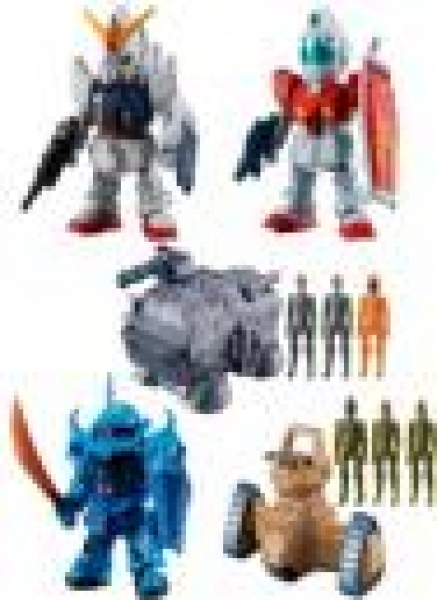 Bandai Hobby: Mobile Suit Gundam Micro Wars 2 Collection (1)