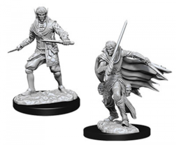Pathfinder Deep Cuts Unpainted Miniatures: Male Elf Rogue (2)