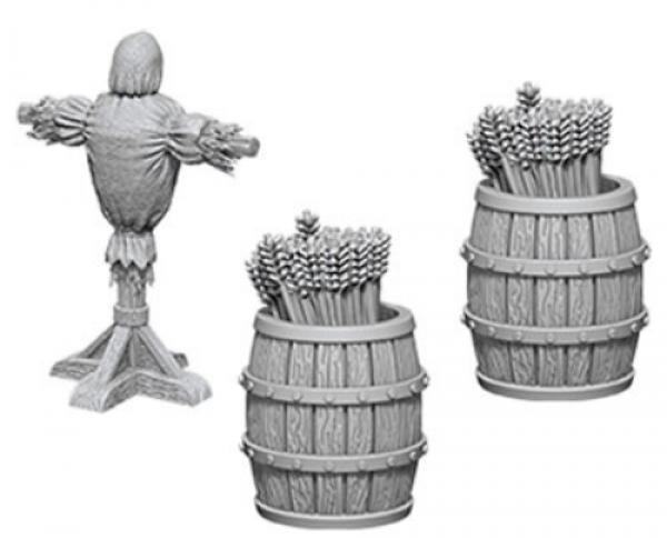 WizKids Deep Cuts Unpainted Miniatures: Archery Range