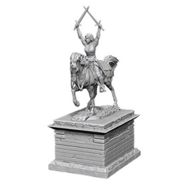 WizKids Deep Cuts Unpainted Miniatures: Heroic Statue