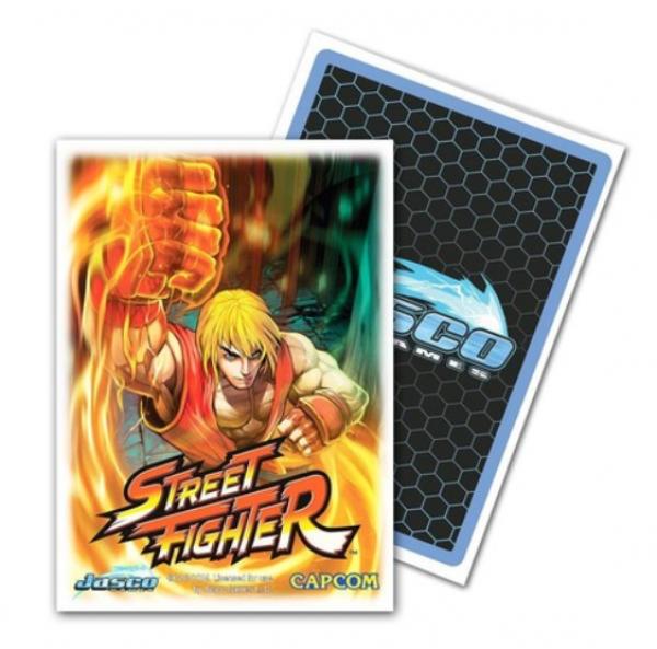 Dragon Shields: Classic Street Fighter Ken Standard Art Sleeves, Limited Edition (100)