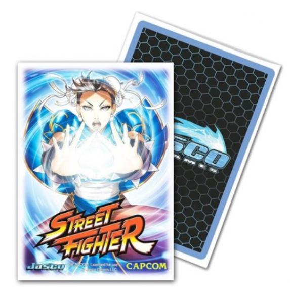 Dragon Shields: Classic Street Fighter Chun-Li Standard Art Sleeves, Limited Edition (100)