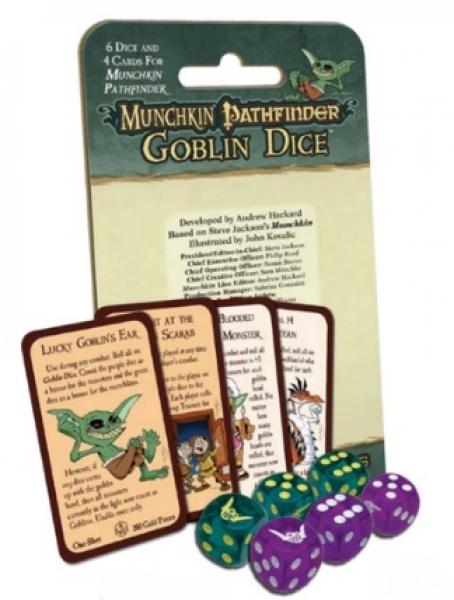 Munchkin: Pathfinder Goblin Dice