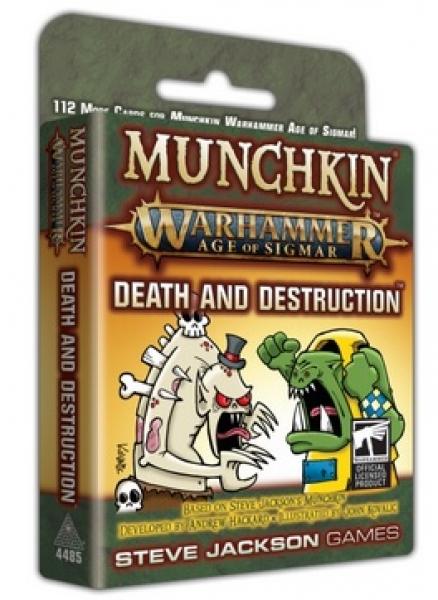 Munchkin: Warhammer Age of Sigmar - Death and Destruction