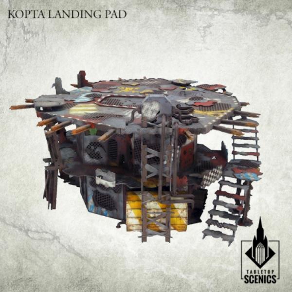 Kromlech Tabletop Scenics: Kopta Landing Pad
