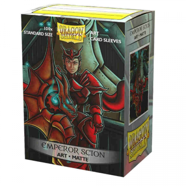 Dragon Shield Art Sleeves: Standard - Matte 'Emperor Scion Portrait' Art, Limited Edition (100 ct.)