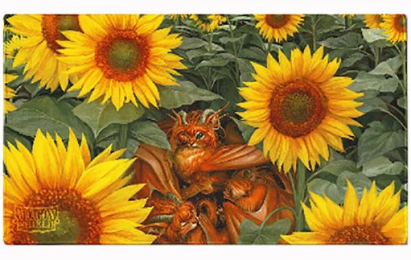 Dragon Shields:  Tangerine 'Dyrkottr Dragon of Curiosity', Limited Edition Playmat