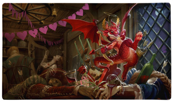 Dragon Shields:  'Valentine's 2020 Dragon', Limited Edition Playmat