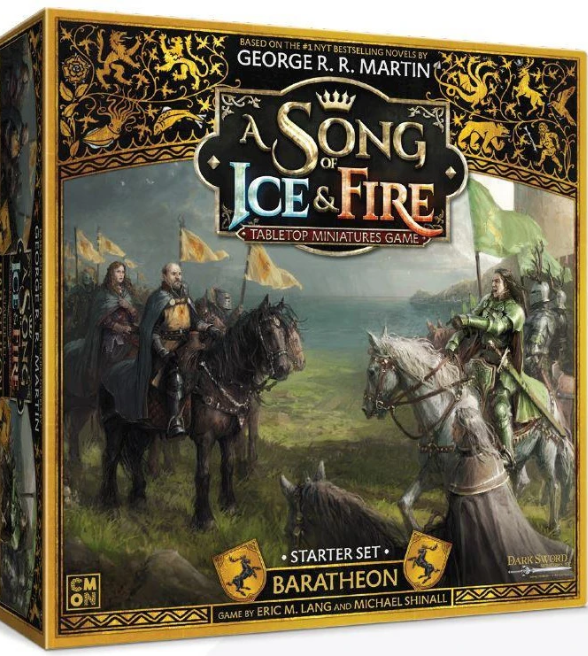 Song of Ice & Fire Miniatures Game: Baratheon Starter Set