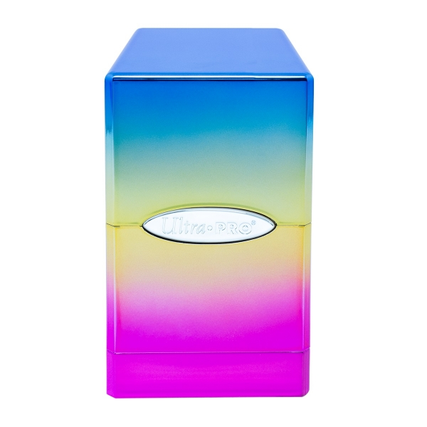 Deck Box:  Hi-Gloss Rainbow Satin Tower