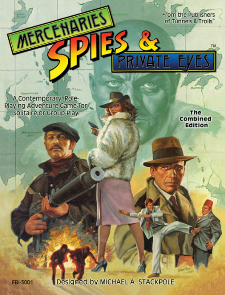 Mercenaries Spies & Private Eyes RPG: The Combined Edition