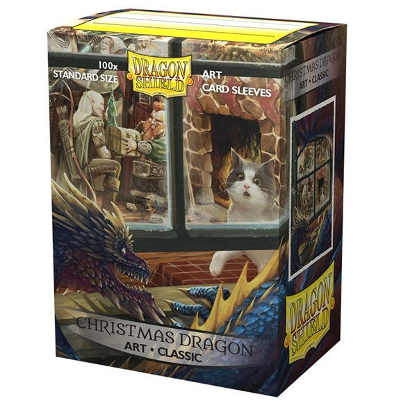 Dragon Shield Sleeves: Standard Classic Christmas Art, Limited Edition (100ct)