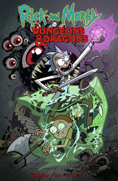 Rick and Morty vs. Dungeons & Dragons (Comic Book Mini-Series)