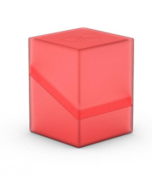 Deck Box: Boulder 100+ Standard Size - Ruby