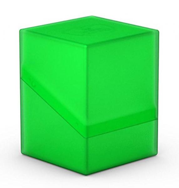 Deck Box: Boulder 100+ Standard Size - Emerald