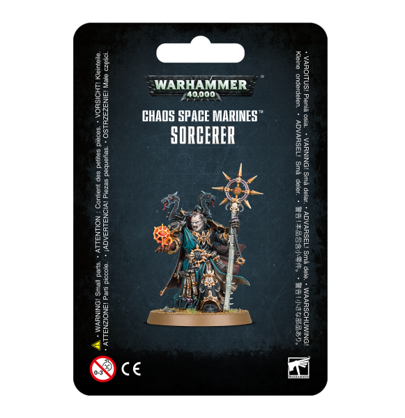 WH40K: Chaos Space Marines Sorcerer