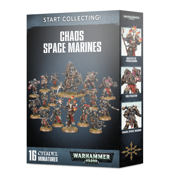 WH40K: Start Collecting! Chaos Space Marines (2019)