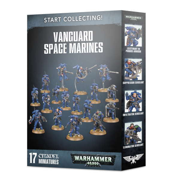 Warhammer 40K: Start Collecting! Vanguard Space Marines