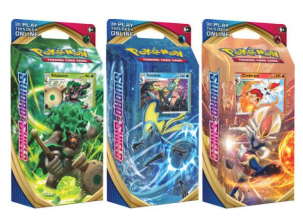 Pokemon CCG: Sword & Shield Theme Deck (1)