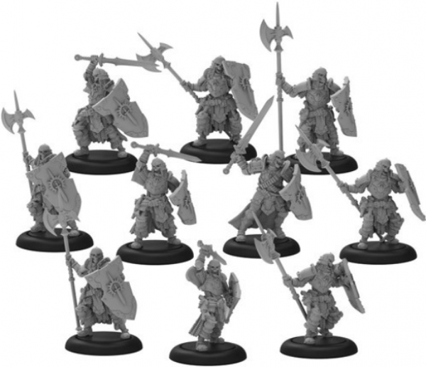 Warmachine: Legion of Lost Souls – Mercenary Morrowan Unit (10) (metal)