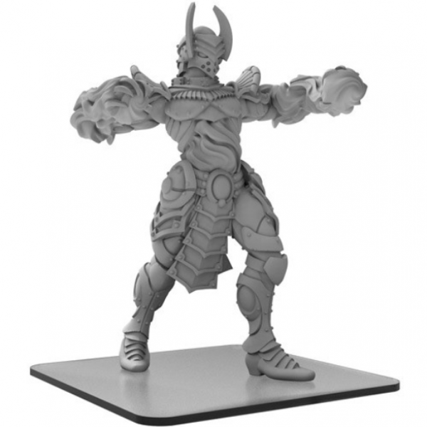 Monsterpocalypse: Incinerus – Monsterpocalypse Elemental Champions Monster (metal/resin)