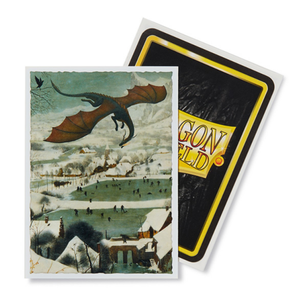 Dragon Shield Art Sleeves: Standard - Hunters in the Snow Art (100 ct.)