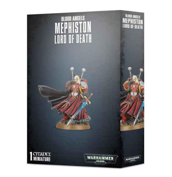 Warhammer 40K: Blood Angels - Mephiston, Lord of Death