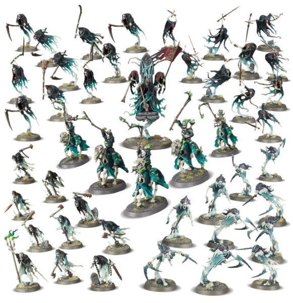 Age of Sigmar: BATTLEFORCE Nighthaunt Court of the Craven King [LIMITED PRINT RUN]