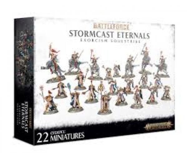Age of Sigmar: BATTLEFORCE Stormcast Eternals Exorcism Soulstrike [LIMITED PRINT RUN]