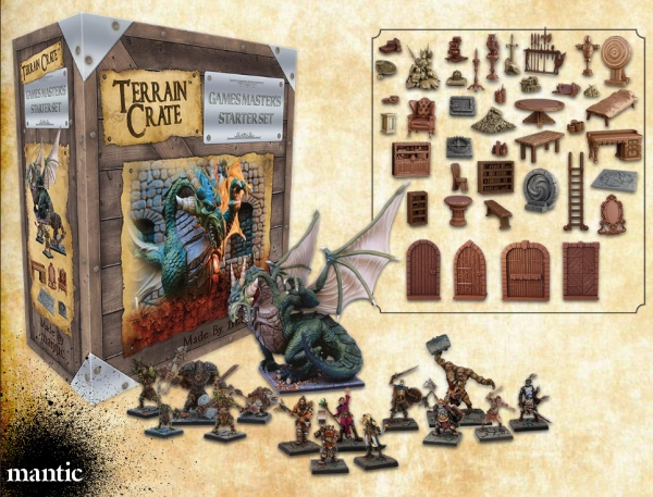 Terrain Crates: Game Master's Starter Set