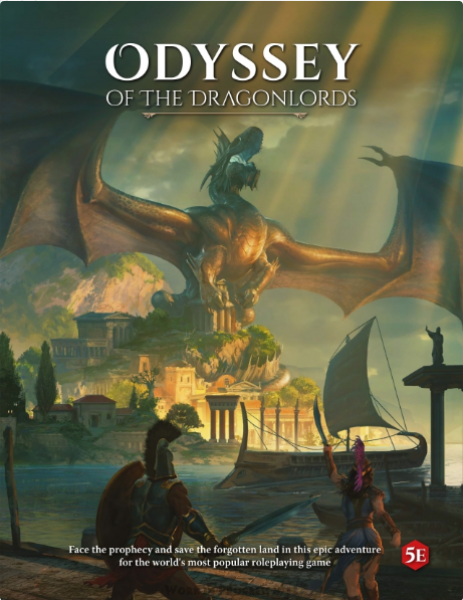 D&D 5th Edition: Odyssey of the Dragonlords 5E