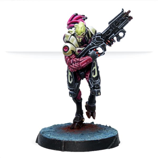 Infinity (#807):  Shasvastii Seed-Soldiers (Combi Rifle)