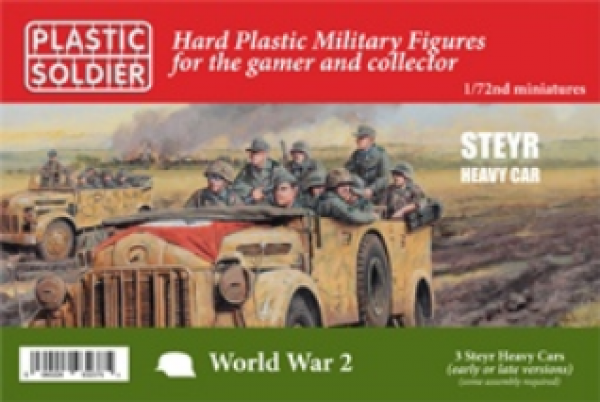 20mm WWII (Russian): 1/72nd Steyr Heavy Car