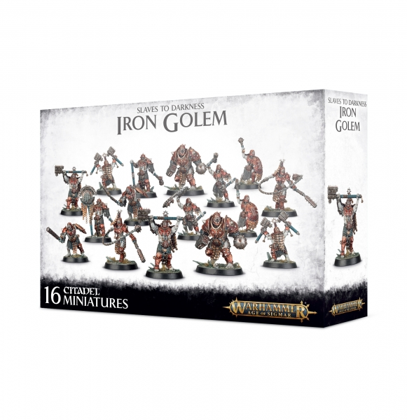 Age of Sigmar: Slaves to Darkness - Iron Golems
