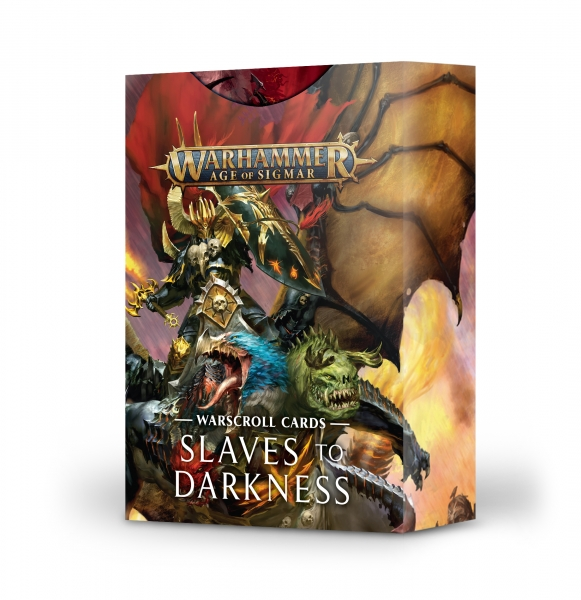 Age of Sigmar: Slaves to Darkness - Warscroll Cards