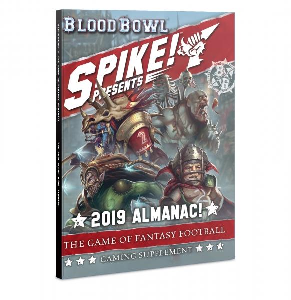 Blood Bowl: Blood Bowl 2019 Almanac! (HC)
